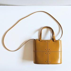 Tod's Tan Small Top Handle Crossbody Handbag